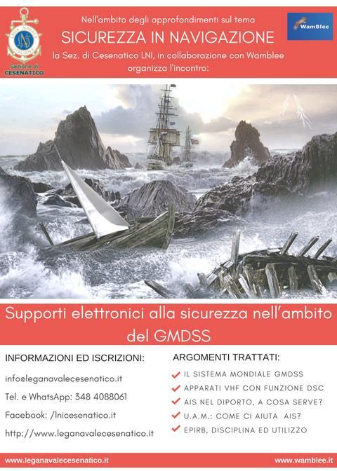 Supporti elettronici alla sicurezza nell'ambito del GMDSS